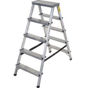 Алуминиева домакинска стълба Drabest 2 X 5