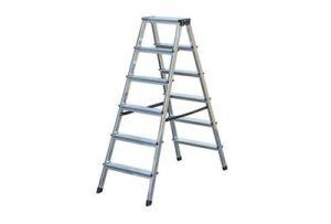 Алуминиева домакинска стълба Drabest 2 X 6
