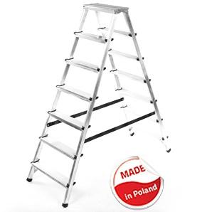 Алуминиева домакинска стълба Drabest 2 X 7