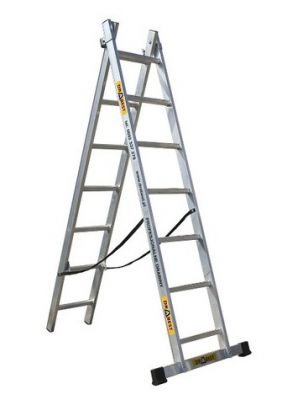 Алуминиева стълба Drabest 2 X 9