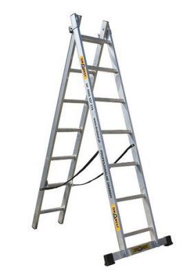 Алуминиева стълба Drabest 2 X 12