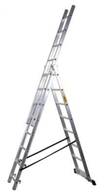 Алуминиева стълба Drabest 3 X 9