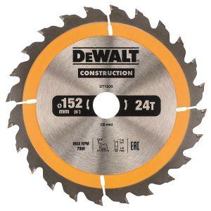 Циркулярен диск DeWALT Ф 152 Z 24 за дърво