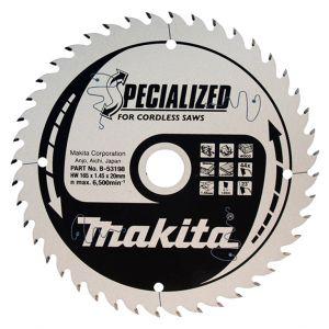 Циркулярен диск Makita Ф 165 HM Z 44 за дърво