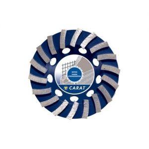 Диамантен диск Carat за шлайфане на бетон Ф 180 едноредов CONCRETE STANDARDP40 SEC