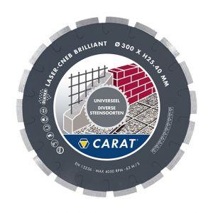Диамантен диск Carat CNEB за бетон и строителни материали ф 350