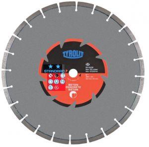 Диамантен диск Tyrolit за бетон и строителни материали ф125
