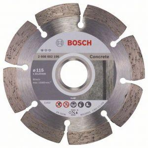 Диамантен диск Bosch за бетон ф115