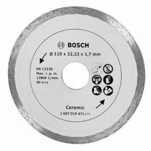Диамантен диск Bosch за керамика Ф110