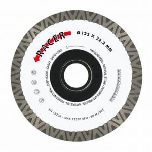 Диамантен диск Carat за гранитогрес Ф125