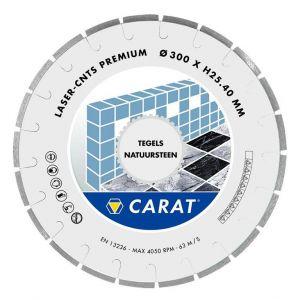 Диамантен диск Carat за гранит, мрамор и керамика Ф300