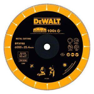 Диамантен диск DeWALT за метал, пластмаса, гума Ф355