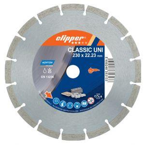 Диамантен диск Norton Classic Laser  за тухли, бетон и керемиди Ф115