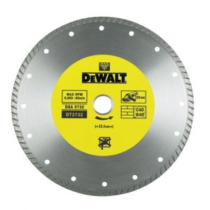 Диамантен диск DeWALT за бетон, керемиди и мрамор Ф115