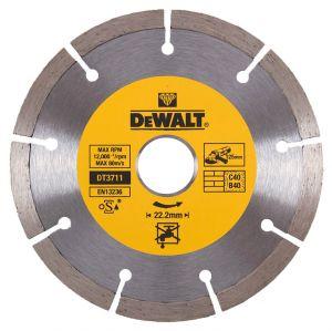 Диамантен диск DeWALT за тухли и керемиди Ф125