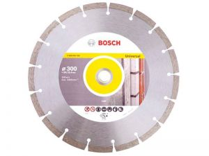 Диамантен диск Bosch за тухли, бетон и керемиди Ф300