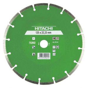 Диамантен диск Hitachi за тухли, бетон и керемиди Ф125