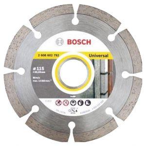 Диамантен диск Bosch за тухли, бетон и керемиди Ф115