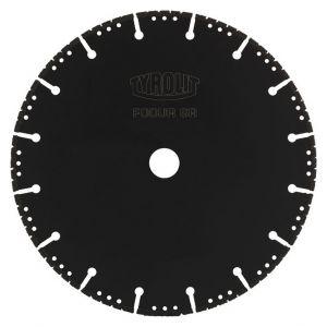 Диамантен диск Tyrolit за чугун Ф230