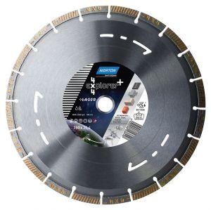 Диамантен диск Norton за асфалт, бетон, гранит и метал Ф350