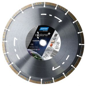 Диамантен диск Norton за асфалт, бетон, гранит и метал Ф125