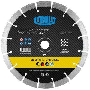 Диамантен диск Tyrolit за бетон, гранит, строителни материали и метал Ф350