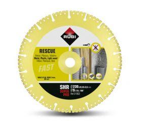 Диамантен диск Rubi за бетон, гранит, метал, пластмаса и дърво Ф125
