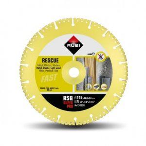 Диамантен диск Rubi за бетон, гранит, метал, пластмаса и дърво Ф115