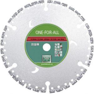 Диамантен диск Heller за бетон, стоманобетон, гранит, метал, пластмаса и дърво Ф230