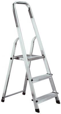 Домакинска алуминиева стълба Krause Corda 2+1