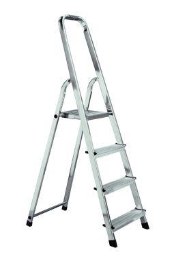 Домакинска алуминиева стълба Krause Corda 3+1