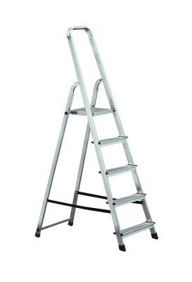 Домакинска алуминиева стълба Krause Corda 4+1