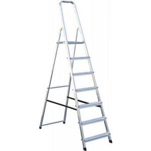 Домакинска алуминиева стълба Krause Corda 6+1