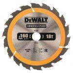 Циркулярен диск DeWALT Ф 160 HM Z 18 за дърво