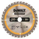 Циркулярен диск DeWALT Ф 165 HM Z 36 за дърво