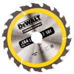 Циркулярен диск DeWALT Ф 184 HM Z 18 за дърво