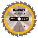 Циркулярен диск DeWALT Ф 184 HM Z 24 за дърво
