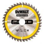 Циркулярен диск DeWALT Ф 190 HM Z 40 за дърво
