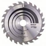 Циркулярен диск Bosch Ф 200 HM Z 24 за дърво