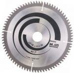 Циркулярен диск Bosch HM Ф 216 Z 80 за алуминий