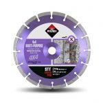 Диамантен диск Rubi за бетон и строителни материали ф115