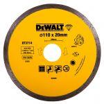 Диамантен диск DeWALT за гранит, мрамор и керамика ф110