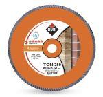Диамантен диск Rubi за тухли, бетон, мрамор и керемиди Ф250