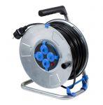 Немски удължител на макара с кабел AS-SCHWABE 4 IP20