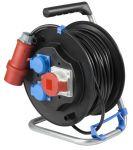 Немски удължител на макара с кабел AS-SCHWABE 5х1.5